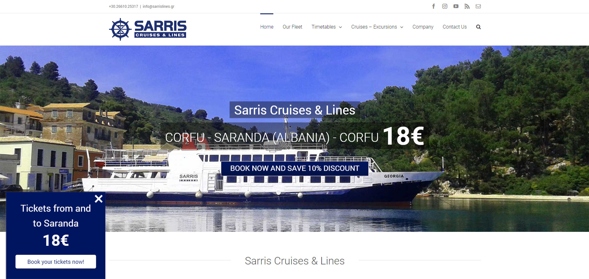 sarris lines