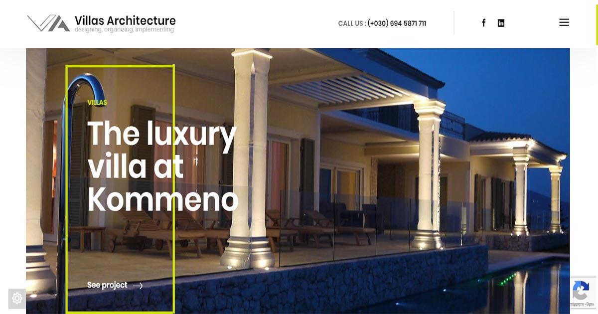 Villas Architecture