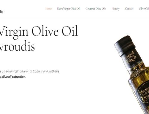 Olive Oil Corfu